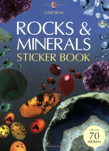 Rocks and Minerals Sticker Book (Spotter's Guide: Miles, Lisa; Johnson,