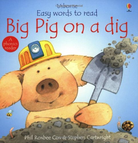 9780746030219: Big Pig on a Dig (Usborne Easy Words to Read)