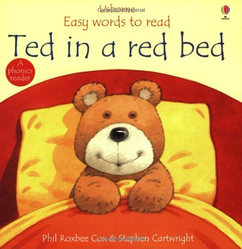 9780746030240: Ted in a Red Bed (Usborne Easy Words to Read)