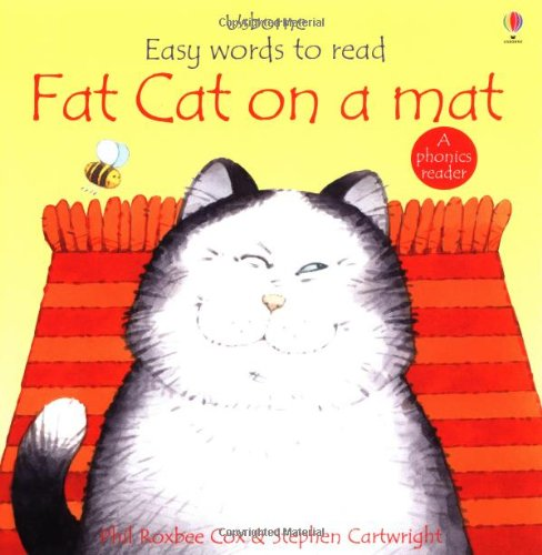 9780746030257: Fat Cat on a Mat (Usborne Easy Words to Read)