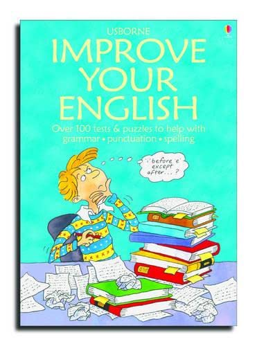 9780746030493: Usborne Improve Your English (Test Yourself Series)
