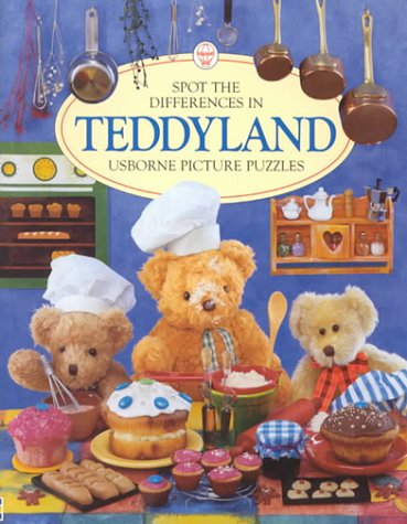 Teddyland (Spot the Differences): Phil Roxbee Cox