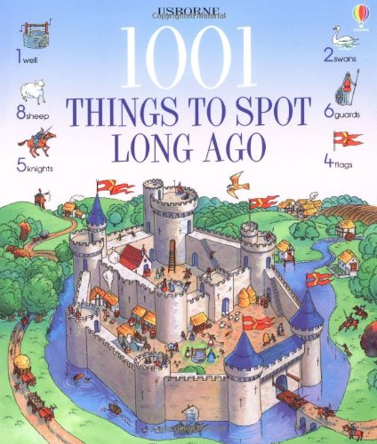 9780746033180: 1001 Things to Spot Long Ago