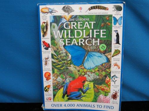 9780746033326: Usborne Great Wildlife Search: