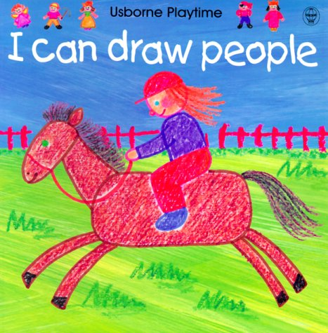 9780746037041: I Can Draw People (Usborne Playtime)