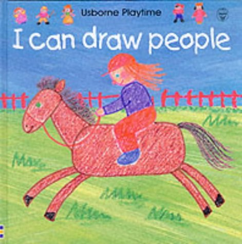 9780746037058: I Can Draw People (Usborne Playtime)