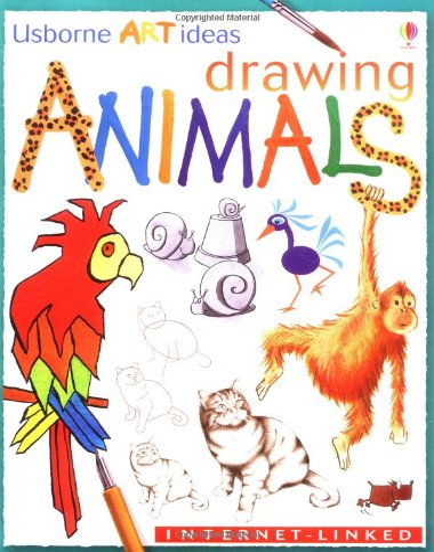 9780746037409: Drawing Animals (Usborne Art Ideas)