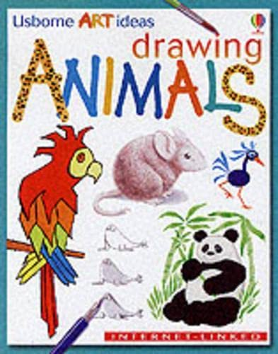 9780746037409: Drawing Animals (Usborne Art Ideas)
