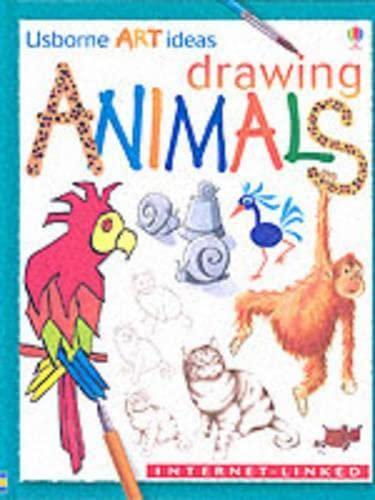 9780746037416: Drawing Animals (Usborne Art Ideas)