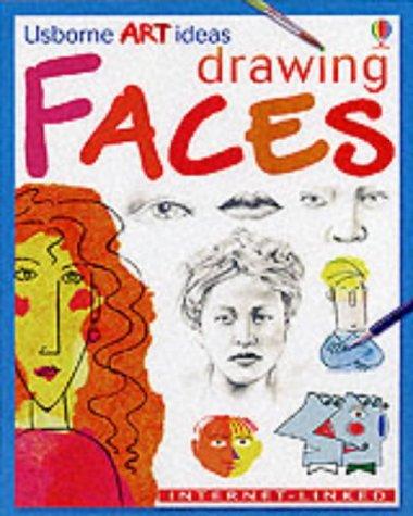9780746037423: Drawing Faces (Usborne Art Ideas)