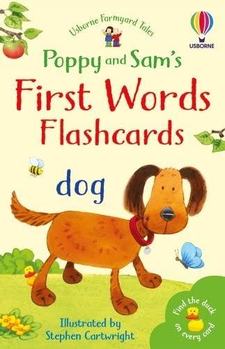 9780746037508: First Words Flashcards (Farmyard Tales Flashcards)