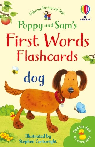 9780746037508: Farmyard Tales First Words Flashcards