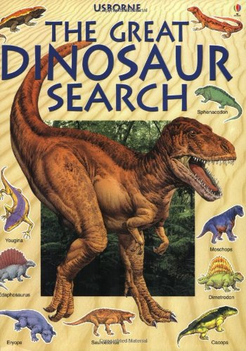 9780746037515: Great Dinosaur Search (Great Searches (EDC Paperback))