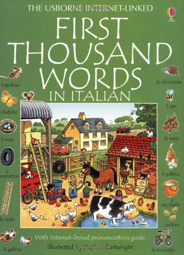 9780746037768: The Usborne First Thousand Words in Italian