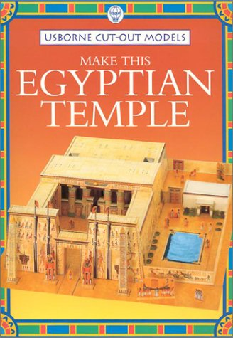 9780746037812: Make This Egyptian Temple (Usborne Cut-Out Models)
