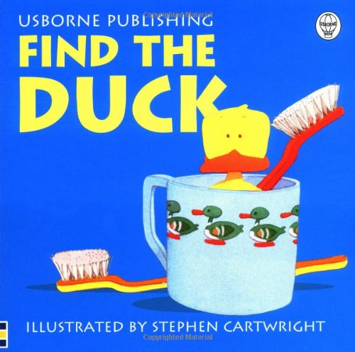 9780746038215: Find the Duck (Usborne Find it Board Books)