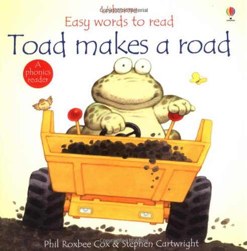 9780746038598: Toad Makes a Road (Usborne Easy Words to Read)