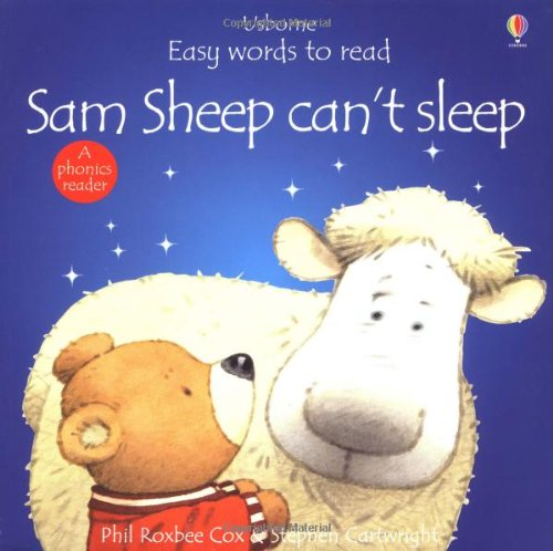 9780746038611: Sam Sheep Can't Sleep (Usborne Easy Words to Read)
