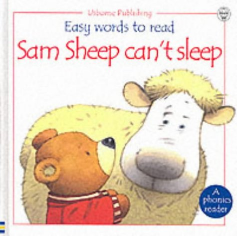 9780746038628: Sam Sheep Can't Sleep (Usborne Easy Words to Read)