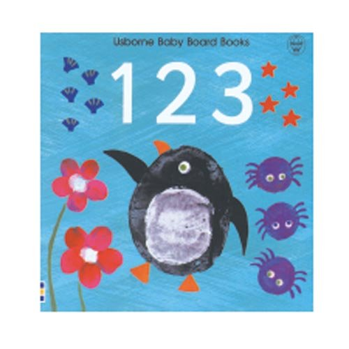 9780746040997: 123 (Usborne Baby Board Books)