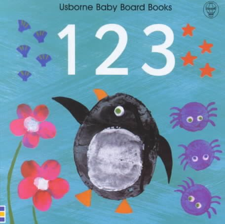 9780746040997: 1 2 3 (Usborne Baby Board Books)