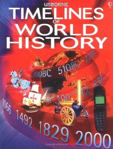 9780746041031: Usborne Timelines of World History