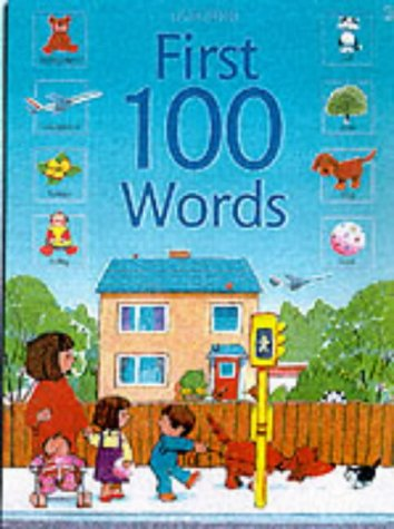 9780746041277: First 100 Words (Usborne First Hundred Words) american english version
