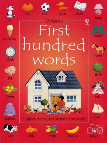9780746041284: First 100 Words (Usborne First Hundred Words)