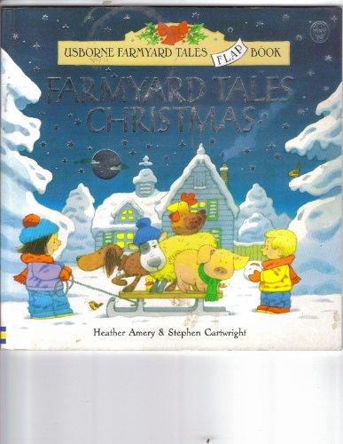 9780746041383: Farmyard Tales Christmas (Usborne Farmyard Tales Flap Books)