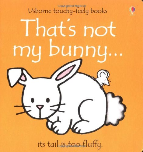 9780746041796: That's Not My Bunny (Usborne Touchy-Feely Board Books)