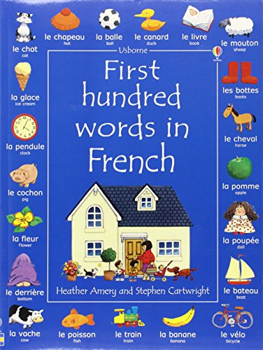 9780746041802: First 100 words in french (Usborne First 100 Words)