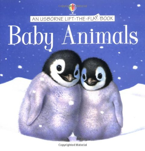 9780746042038: Baby Animals (Usborne Lift the Flap Learner)