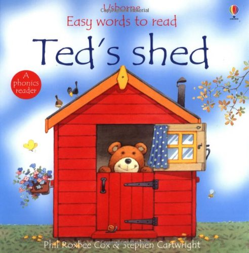 9780746042106: Ted's Shed (Usborne Easy Words to Read)