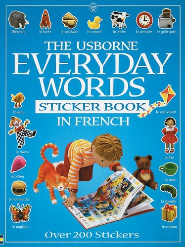 9780746042373: Everyday Words in French: Sticker Book (Usborne Everyday Words Sticker Books)