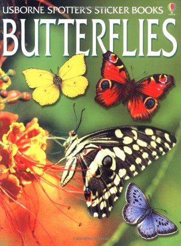 Butterflies (Spotter's Sticker Books): George E. Hyde,
