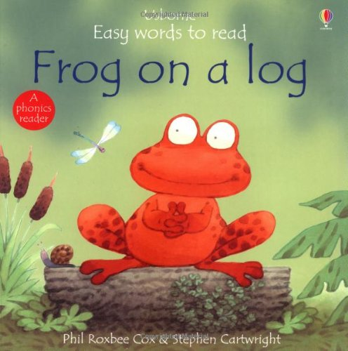 9780746044902: Frog on a Log (Usborne Easy Words to Read)
