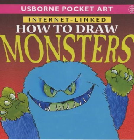 9780746044940: How to Draw Monsters (Usborne Pocket Art)