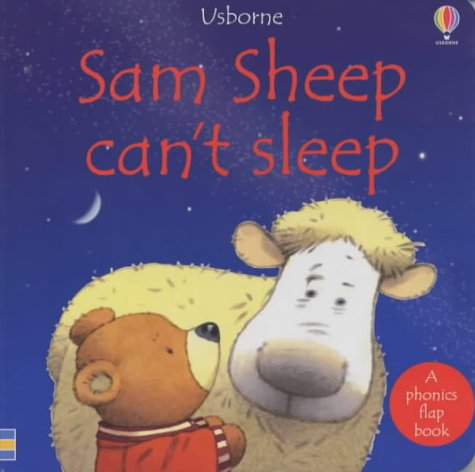 9780746045480: Sam Sheep Can't Sleep (Usborne Phonic Board Books)