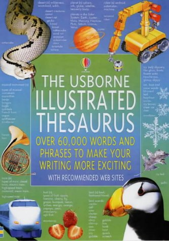 9780746046111: The Usborne Illustrated Thesaurus (Usborne Illustrated Dictionaries)