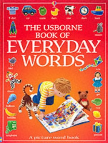 9780746046128: The Usborne Book of Everyday Words (Usborne Everyday Words)