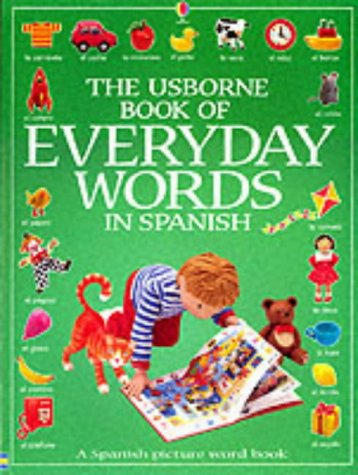 9780746046142: The Usborne Book of Everyday Words in Spanish (Usborne Everyday Words)