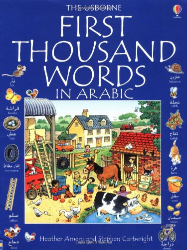 9780746046517: First 1000 Words in Arabic (Usborne First 1000 Words)