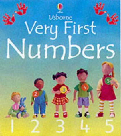 9780746046913: Very First Numbers Board Book (Usborne Everyday Words)