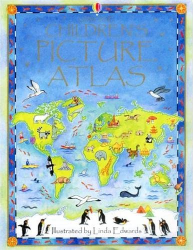 9780746047132: Usborne Children's Picture Atlas