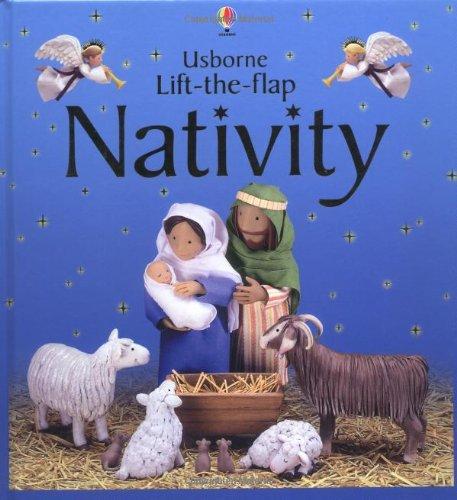 9780746047279: Usborne Lift-the-flap Nativity