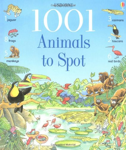 9780746047538: 1001 Animals to Spot (Usborne 1001 Things to Spot)