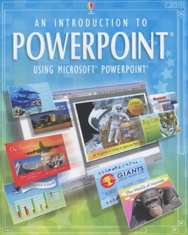 9780746048115: An Introduction to Powerpoint (Usborne Computer Guides)