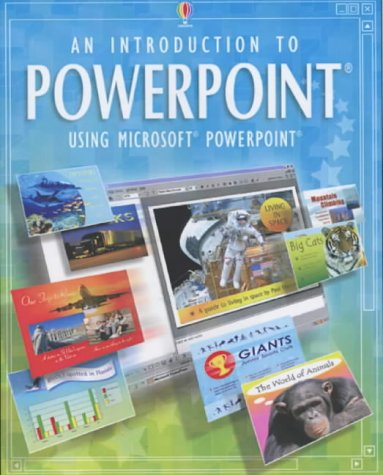 9780746048122: An Introduction to Powerpoint (Usborne computer guides)