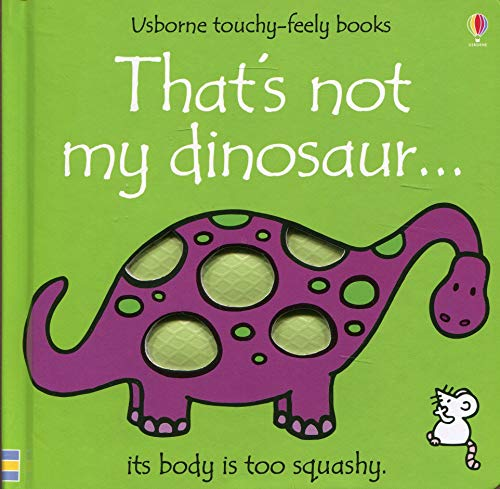 9780746048146: That's Not My Dinosaur (Usborne Touchy-Feely Books)