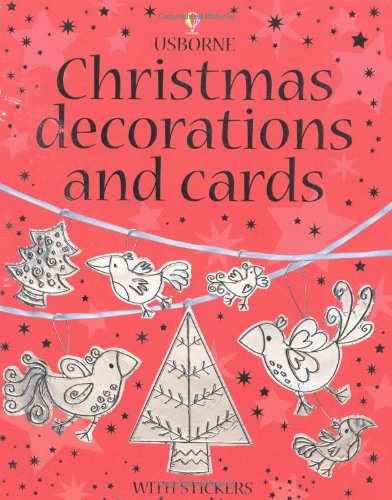 9780746048498: Christmas Decorations and Cards (Usborne Activities)